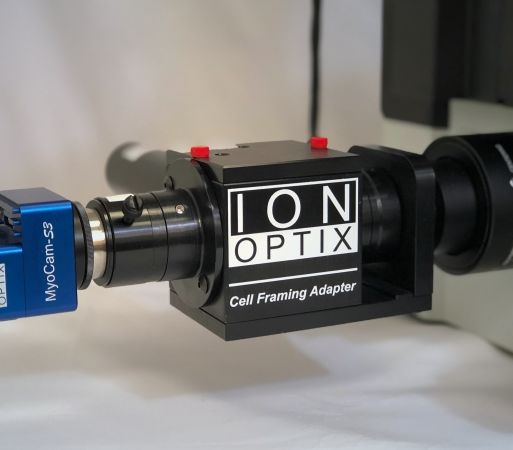 IonOptix Cell Framing Adapter